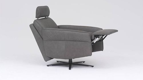 Remarkable Aura Swivel Recliner Chair By Himolla Pabps2019 Chair Design Images Pabps2019Com