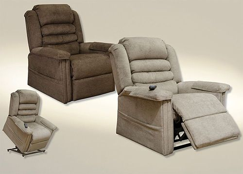 Magnificent Catnapper Invincible 4832 Power Lift Full Lay Out Chaise Recliner Dailytribune Chair Design For Home Dailytribuneorg