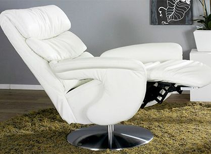 Strange Himolla Crosby Zerostress Integrated Recliner Chair Caraccident5 Cool Chair Designs And Ideas Caraccident5Info