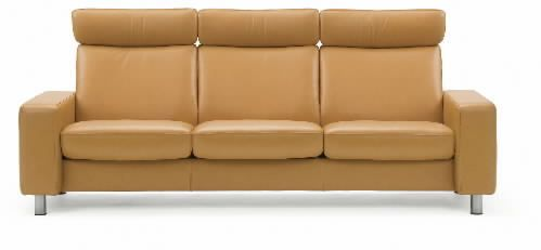 Stressless Space Sofa by Ekornes - Large, High Back