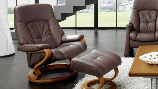 Terrific Himolla Tanat Recliner Chair And Stool Caraccident5 Cool Chair Designs And Ideas Caraccident5Info