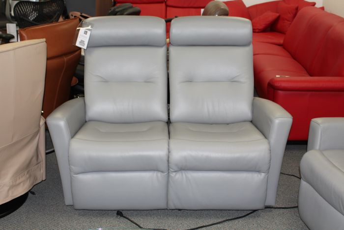 Magnificent Fjords Madrid Wallsaver 2 Seat Power Recliner Sofa In Astroline Soft Grey Gmtry Best Dining Table And Chair Ideas Images Gmtryco