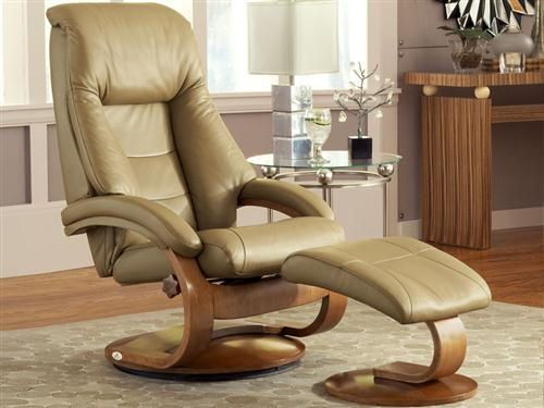 Peachy Oslo Collection Mandal 58 Recliner With Ottoman Gmtry Best Dining Table And Chair Ideas Images Gmtryco