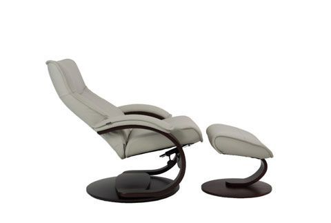 Incredible Fjords Senator Recliner With Ottoman Gmtry Best Dining Table And Chair Ideas Images Gmtryco