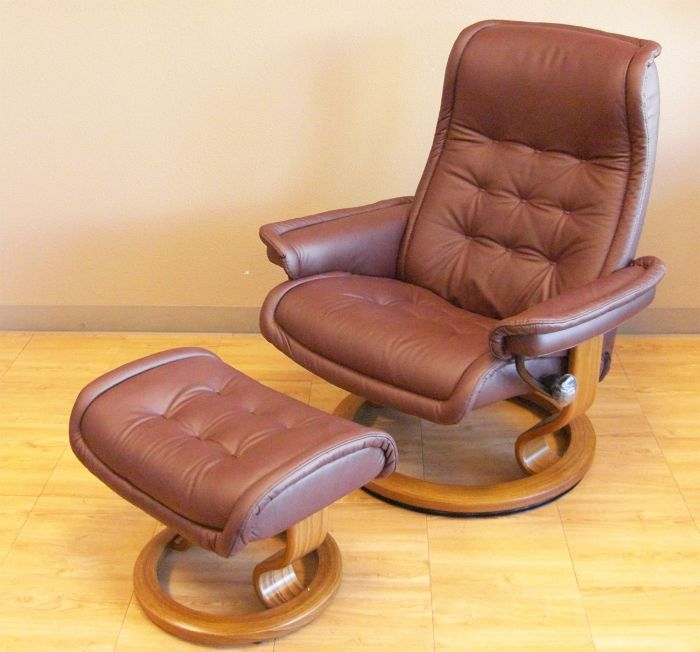 Astounding Stressless Royal Large Paloma Coffee Leather Recliner Chair Inzonedesignstudio Interior Chair Design Inzonedesignstudiocom