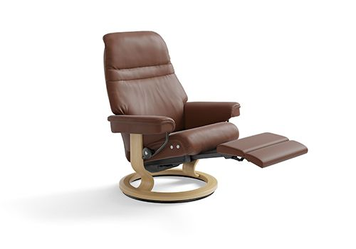 Stressless Sunrise Recliner with Stressless Power™ by Ekornes