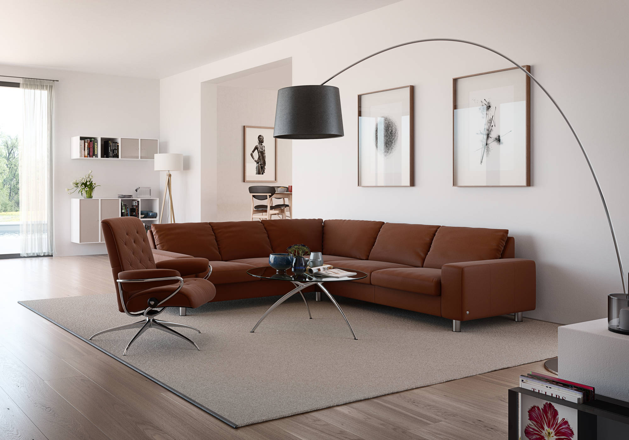 Decorating With Brown Leather Furniture